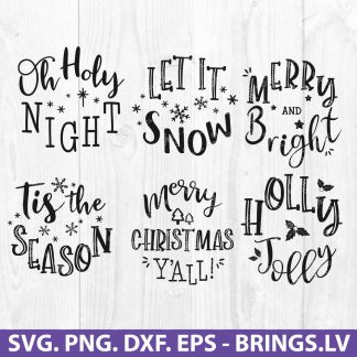 Christmas Ornaments Svg