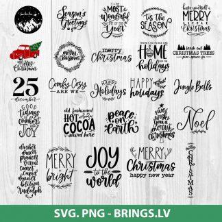 Big Christmas svg bundle