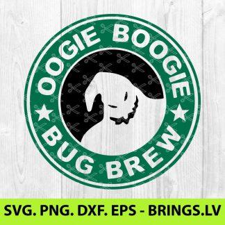 OOGIE BOOGIE STARBUCKS COFFEE SVG