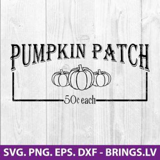 Pumpkin Patch SVG