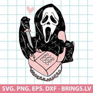 Scream Calling Svg