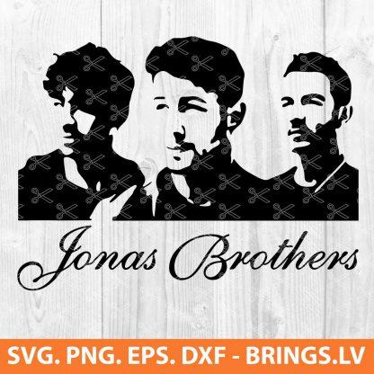 JONAS BROTHERS SVG