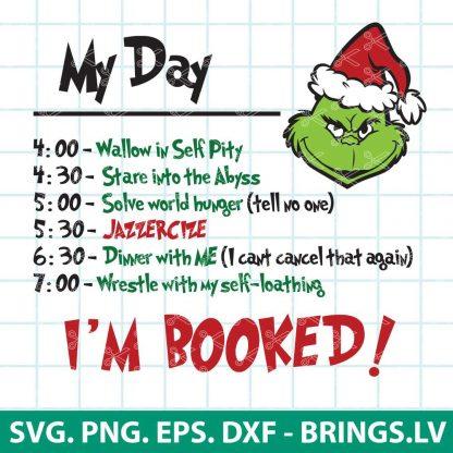 MY DAY GRINCH SVG