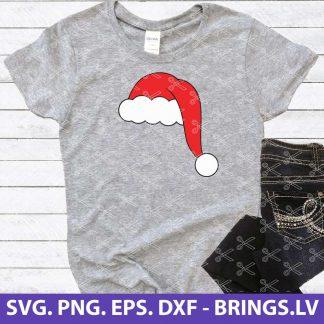 Santa hat svg